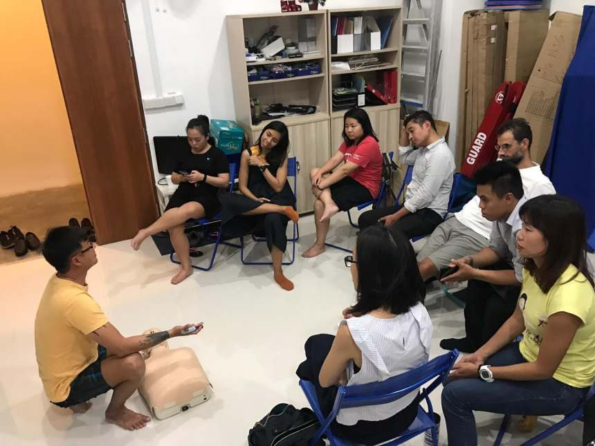 React Right SSI CPR + AED Course